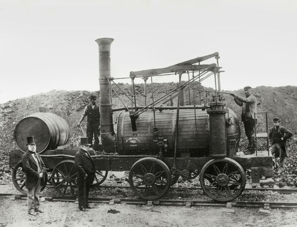 'Wylam Dilly', with its sister locomotive 'Puffing Billy', is the earliest surviving locomotive in the world