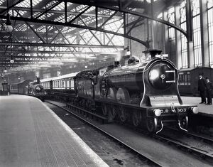 Caledonian Railway's 4-6-0 locomotive No 903 'Cardean' at Glasgow Central