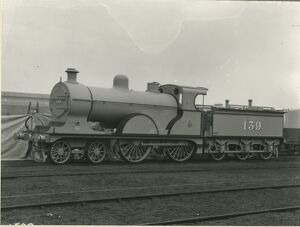Midland Railway Class 2, 4-4-0 steam locomotive number 139