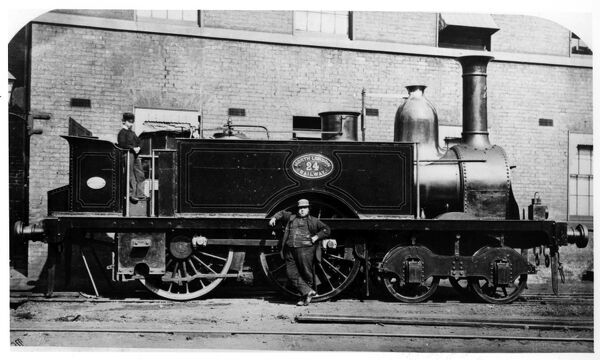 North London Railway binder. page 6. Engine number 24