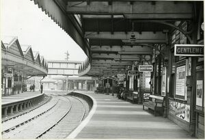 Accrington station, Lancashire & Yorkshire Railway, 1914