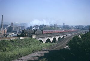BR steam locomotive No. 45647, 30th May 1966. (T.Linfoot slide, 8/153B)