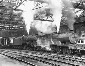 Class 2P 4-4-0 steam locomotive No 40651 an