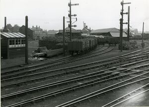 Coote & Warren's coal depot at the south end of the station on the down side