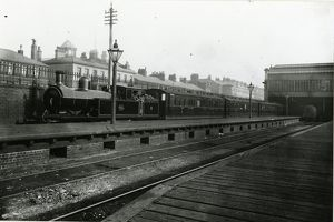 Fleetwood station, London & North Western Railway and Lancashire & Yorkshire Railway
