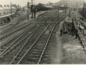 Ipswich station, about1911