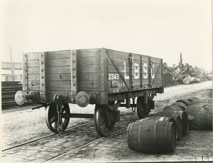 Liverpool North Mersey Goods Depot, Lancashire and Yorkshire Railway, 24 October 1919