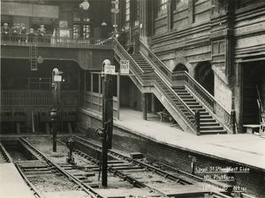 Liverpool Street station, Great Eastern Railway, 13 July 1920