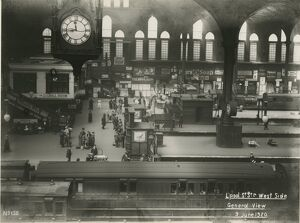Liverpool Street station, Great Eastern Railway. 9 June 1920