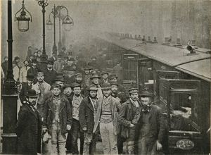 Liverpool Street station, Great Eastern Railway, 25 October 1884
