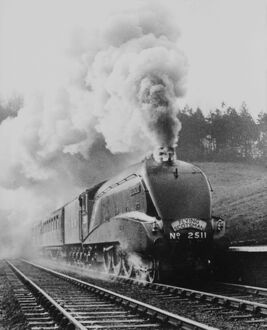 LNER A'Silver King', c 1938