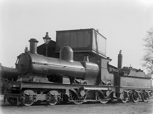 Locomotive no. 3529 at Barnstaple loco shed, with 2000 gallon tender c1926