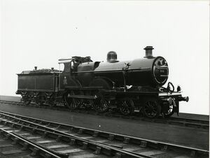 Midland Railway Class 2, 4-4-0 steam locomotive number 375 backhead and controls