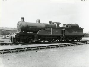 Midland Railway Class 3, 4-4-0 steam locomotive number 756