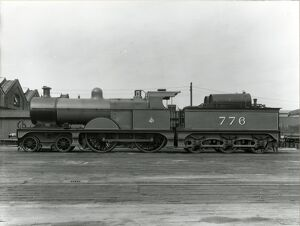 Midland Railway Class 3, 4-4-0 steam locomotive number 776