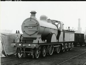 Midland Railway Class 3, 4-4-0 steam locomotive number 740. Built Derby in 1903 as 830
