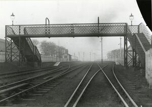The Oaks station, Bolton, Lancashire and Yorkshire Railway, about 1902