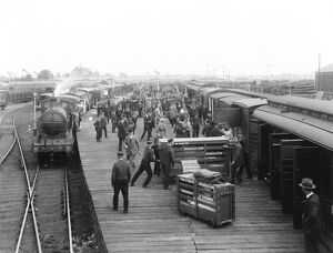 Royal Agricultural show traffic, 1921