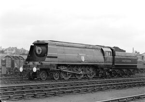Southern Railway (SR) West Country (WC) Class 4-6-2 locomotive 'Tavistock&#39