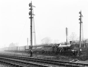 Theatrical train at Spondon junction, 1910