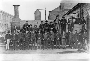 Workshop foremen at the Midland Railway's Derby Works in about 1872.A
