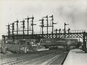 York, Holgate Bridge, London and North Eastern Railway. 1937