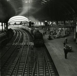 York station, London & North Eastern Railway, about 1951