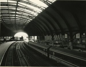 York station, March 1987